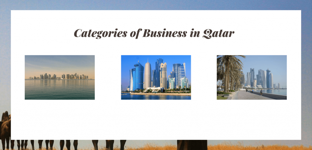 Categories of Business in Qatar